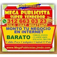 ? BARATO= Mega Publicista, Agencia, Publicidad, Posicionamiento, Paginas Web, Vendedor, Bogota, Cali