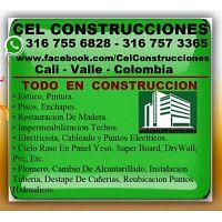 ? CALI, Maestro Construccion, Electricista, Plomero, Enchapador, Pintor, Albañil, Restaurador Madera