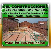 ? CEL CONSTRUCCIONES CALI, Maestro De Obra, Albañil, Electricista, Plomero, Enchapador, Pintor, Rest