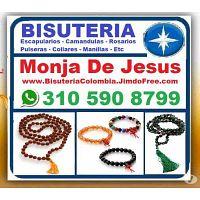 ? Monja De Jesus= Bisuteria Colombia, Camandulas, Rosarios, Pulseras, Denarios, Collares, Manillas,