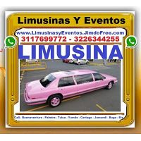 ? Transporte Pasajeros Cali, Alquiler LIMUSINA ROSADA, Limosina, Turismo, 15 Quince Años, Quinceañer