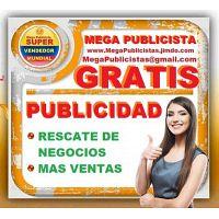 ? GRATIS, Mega Publicidad, Agencia, Publicista, Posicionamiento, Vendedor,  Mercadeo, Marketing, Pag