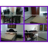 apartamento amoblado para la renta en medellin poblado cod 3421