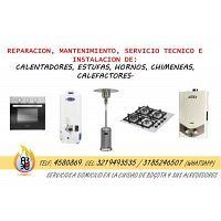 Reparación de Calentadores, Estufas, Hornos, Calefactores